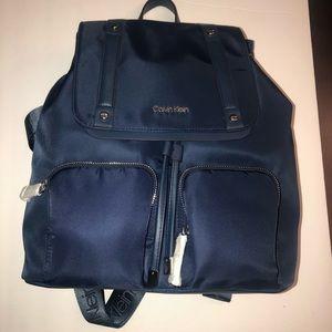 Calvin KleinTeodora Cargo Navy Blue Nylon Backpack